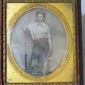 Sixth-Plate Occupational Daguerreotype