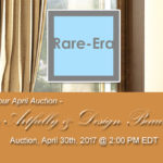 """April. 30, 2017 – """"Live Artfully & Design Beautifully"""" Auction"""