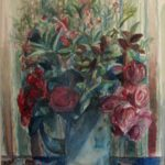 Kees Andrea Floral Watercolor Painting